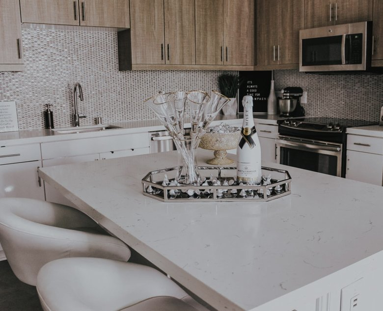 beautiful kitchen styled by z gallerie