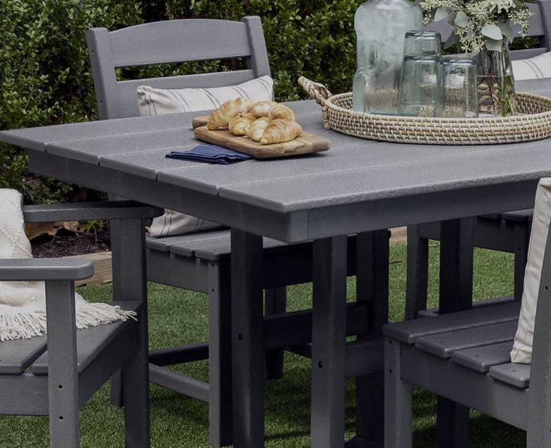grey polywood furniture