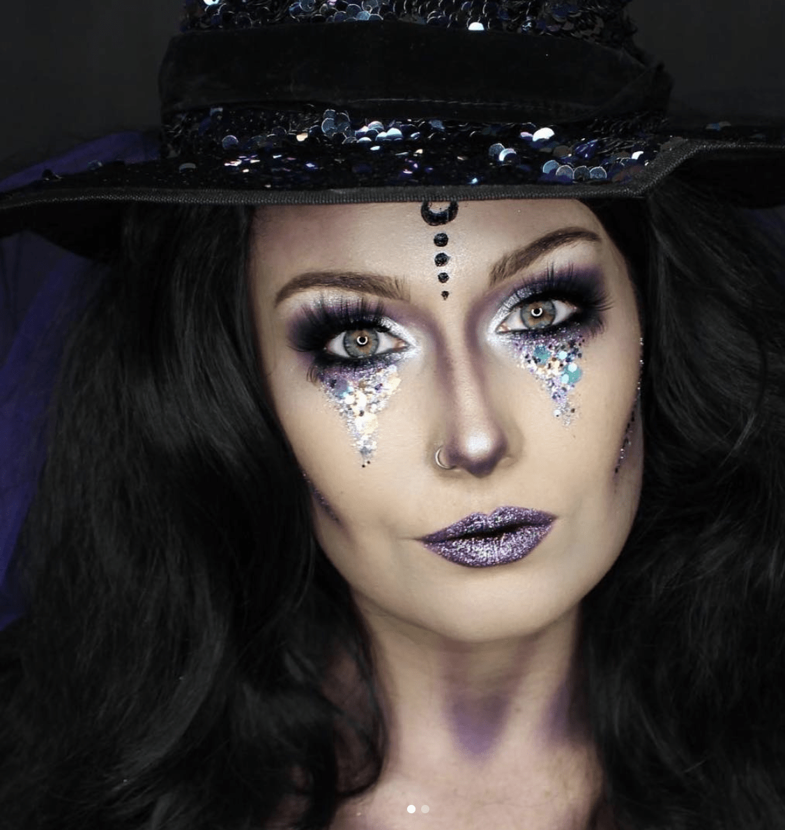 halloween makeup from bh cosmetics