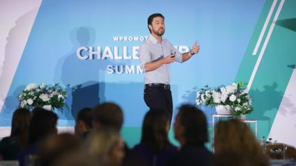 Mike Mothner speaking at Challenger Summit 2019