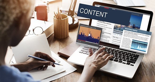 Creating content marketing