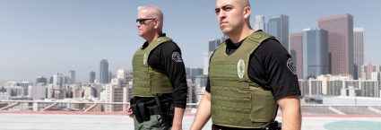 Two men wearing Safe Life Defense body armor