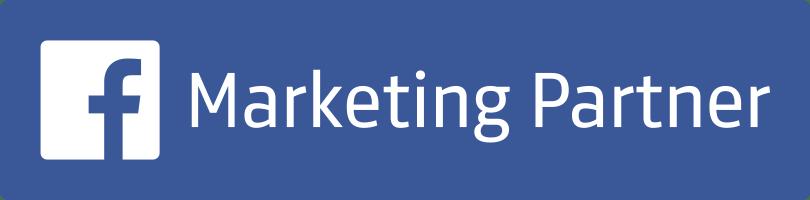 Facebook Marketing Partner badge.