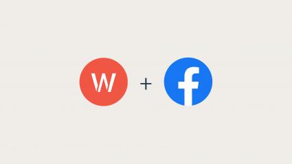 Wpromote Logo + Facebook Logo