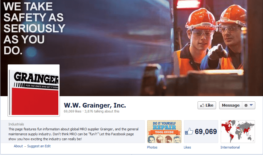 Grainger Facebook