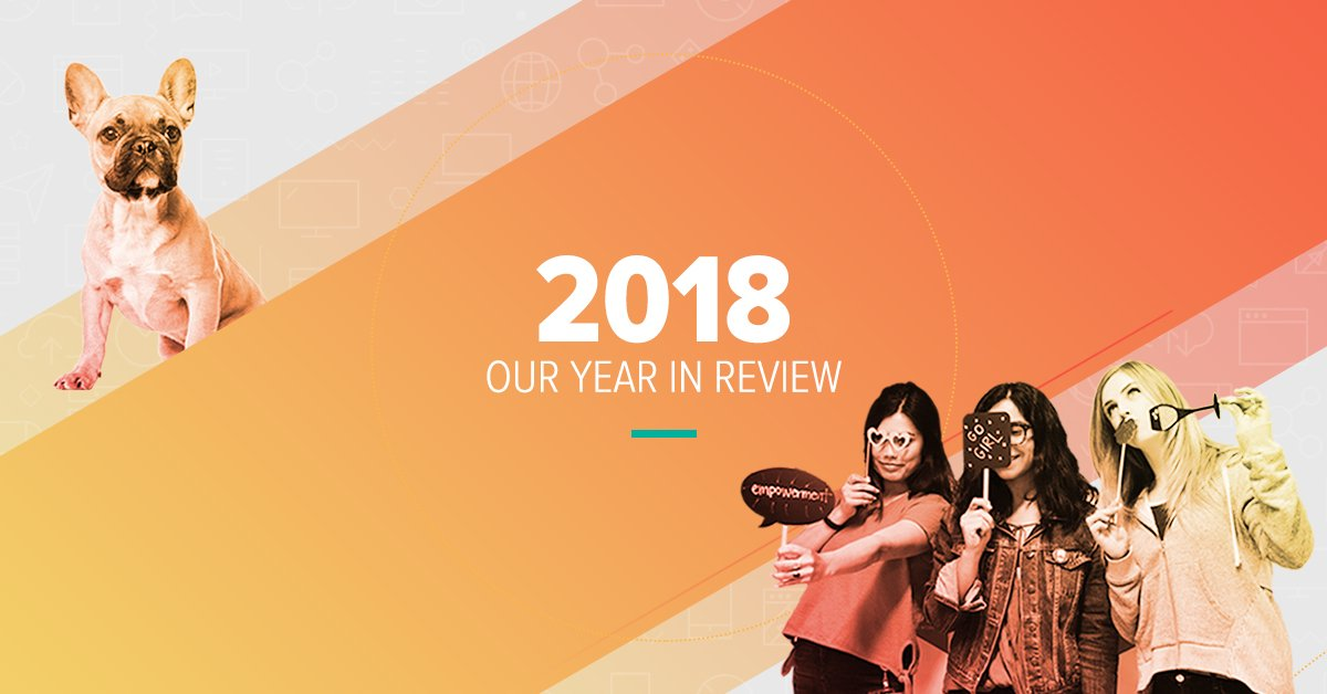Wpromote Year In Review 2018 Infographic