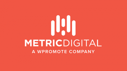 metric digital logo