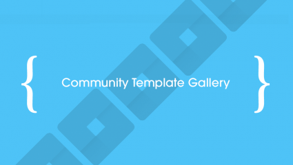 community template gallery