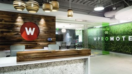 Wpromote Office Lobby