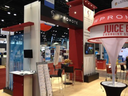 Wpromote's booth at IRCE