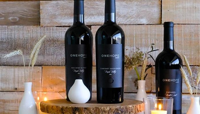 ONEhope wine bottles