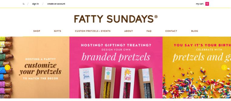 Fatty Sundays homepage