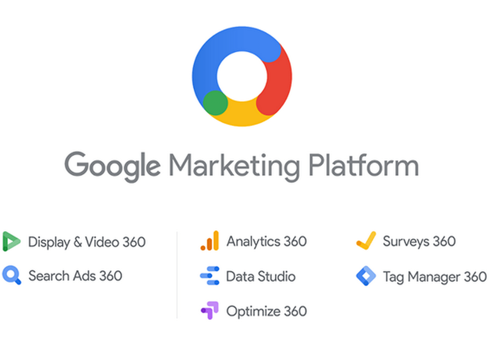 Google Marketing Platform logos