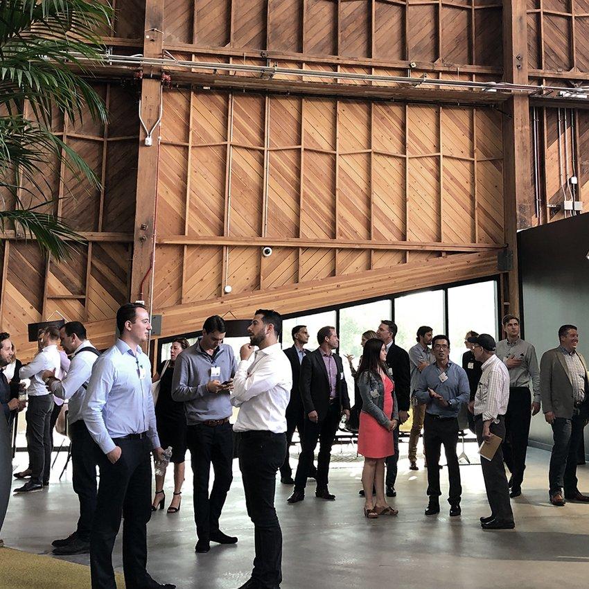 Wpromote event at Google spruce goose hangar
