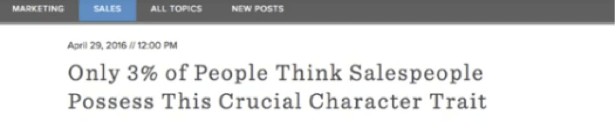 "Blog headline with ""data"" format"