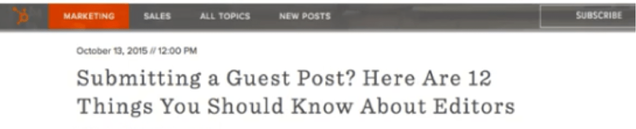 """Blog headline with """"you should know this"""" format"""