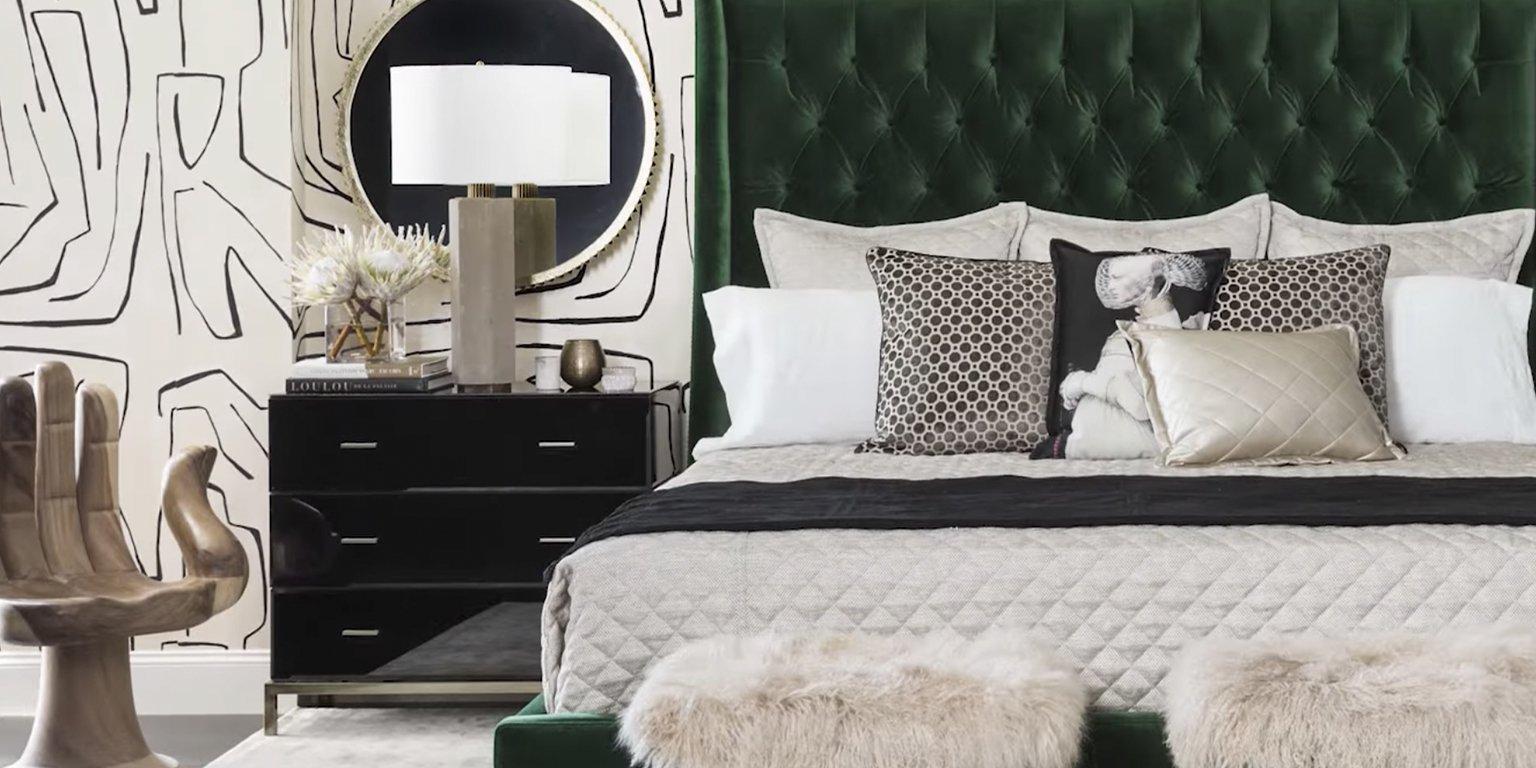 High Fashion Home bedroom furniture