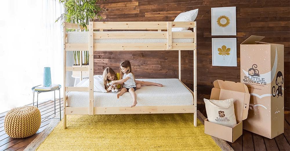 5 little monkeys bunk beds