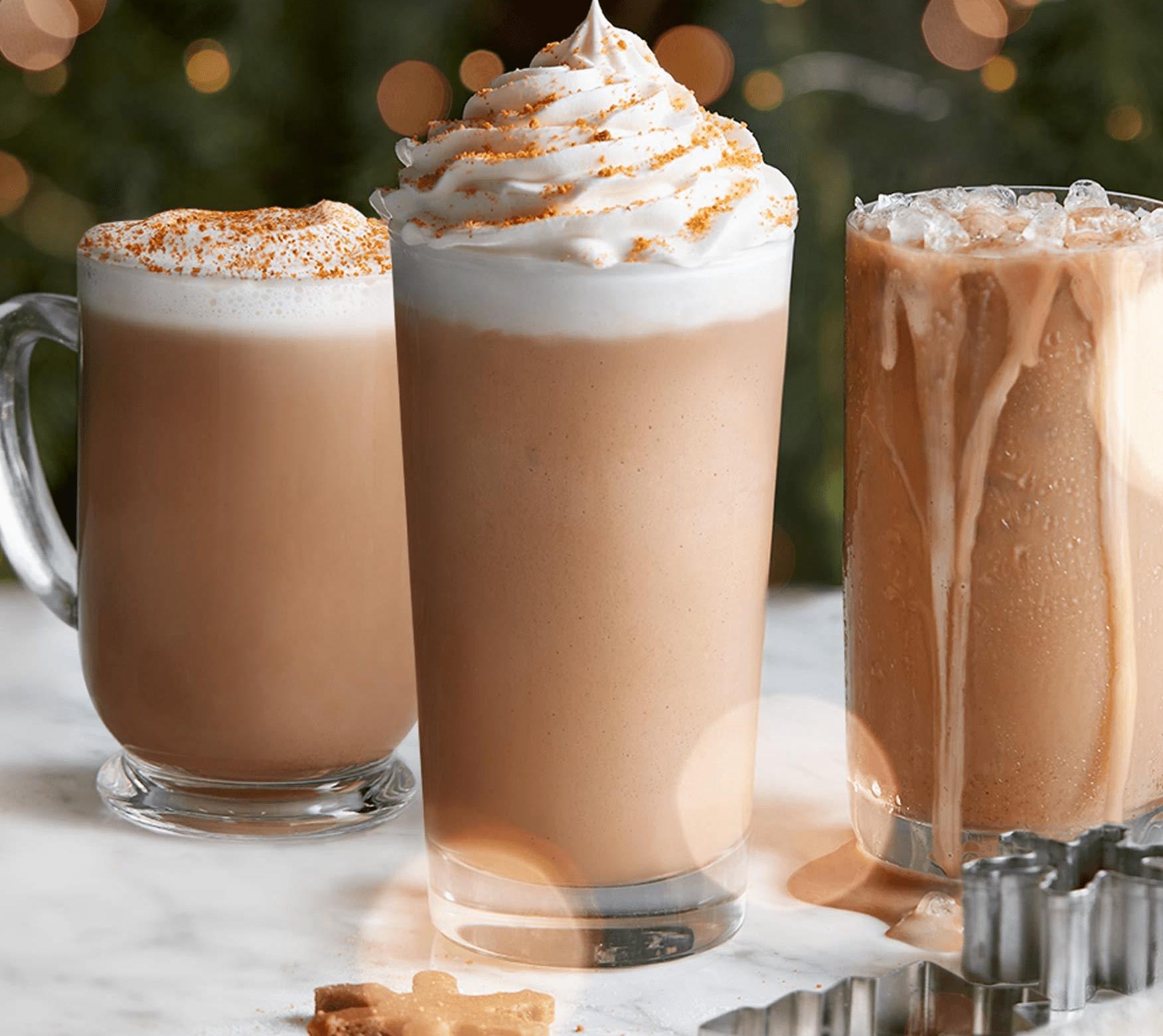 coffee bean & tea leaf drinks