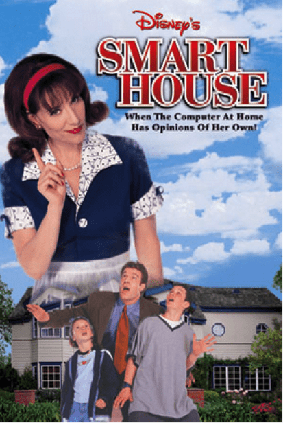 "Disney's ""smart house"" movie poster"