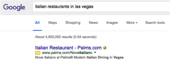 google italian restaurants in las vegas search page 1 result