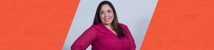 portrait of Wpromote employee Lorraine Santiago