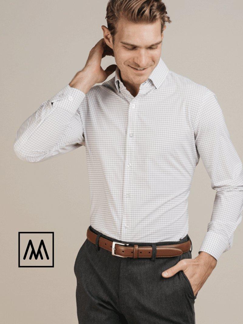 Man wearing Mizzen+Main