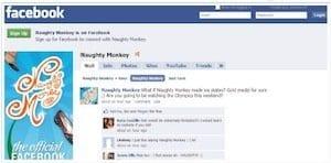 naughty monkey facebook profile