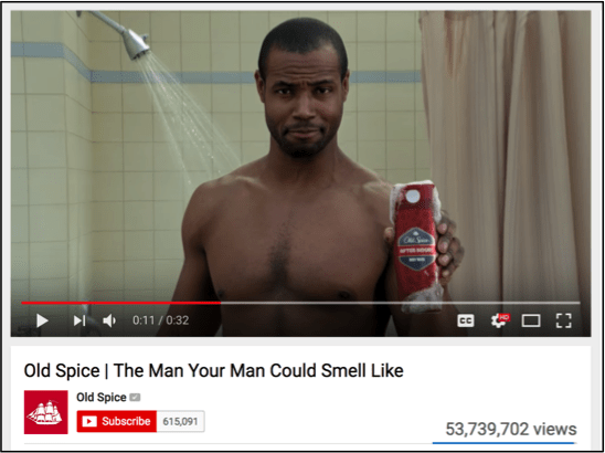 Old Spice the man your man could smell like commercial