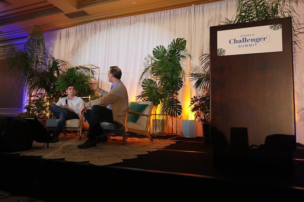 bob schwartz interview at Challenger Summit
