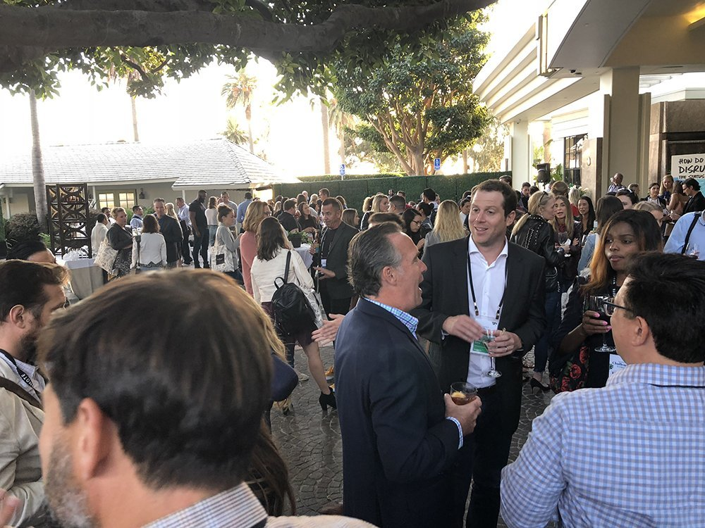 Challenger Summit networking event at the Bungalow in Santa Monica