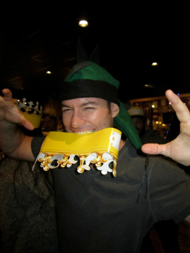 Wpromote employee Ryan Neldner at Medieval Times