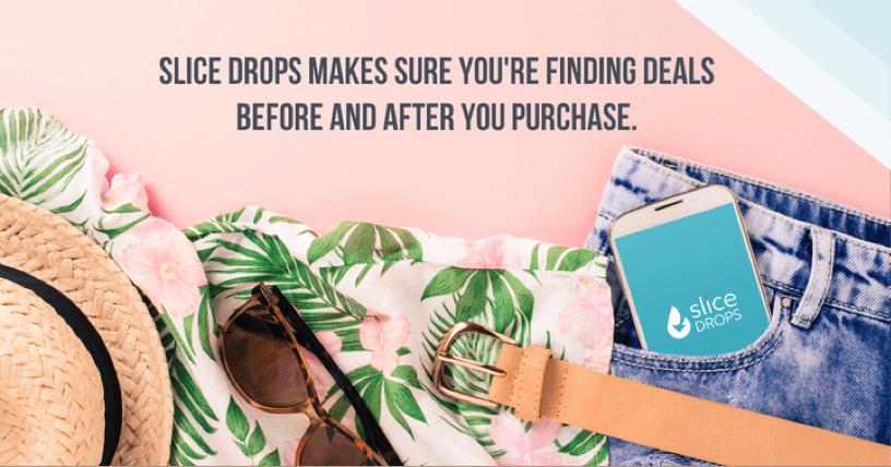 swimsuit sunglasses ad for slide drops