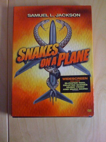 Snakes on a place dvd cover