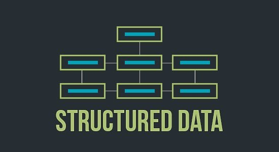 structured data illustration