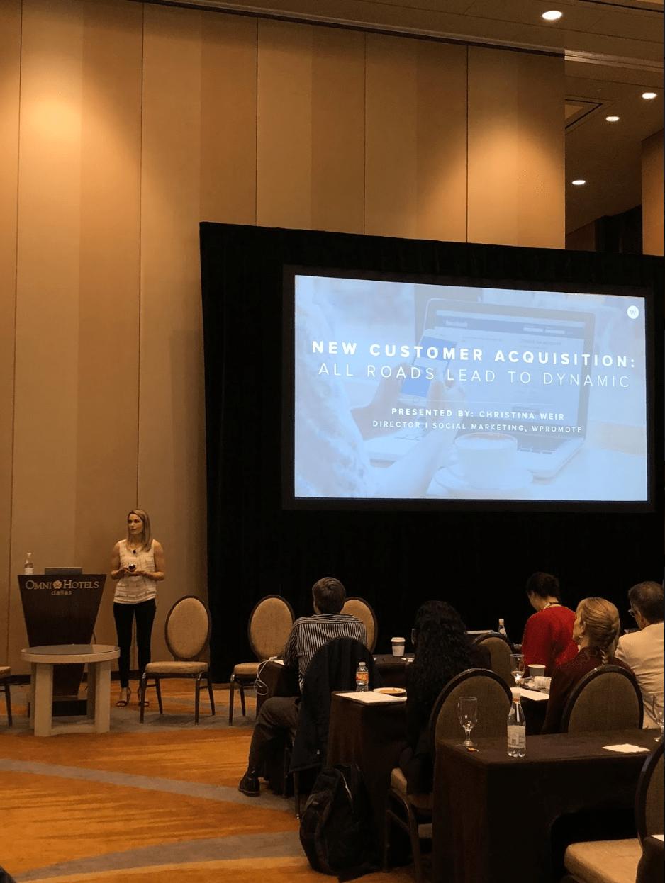 presentation on new customer acquisition