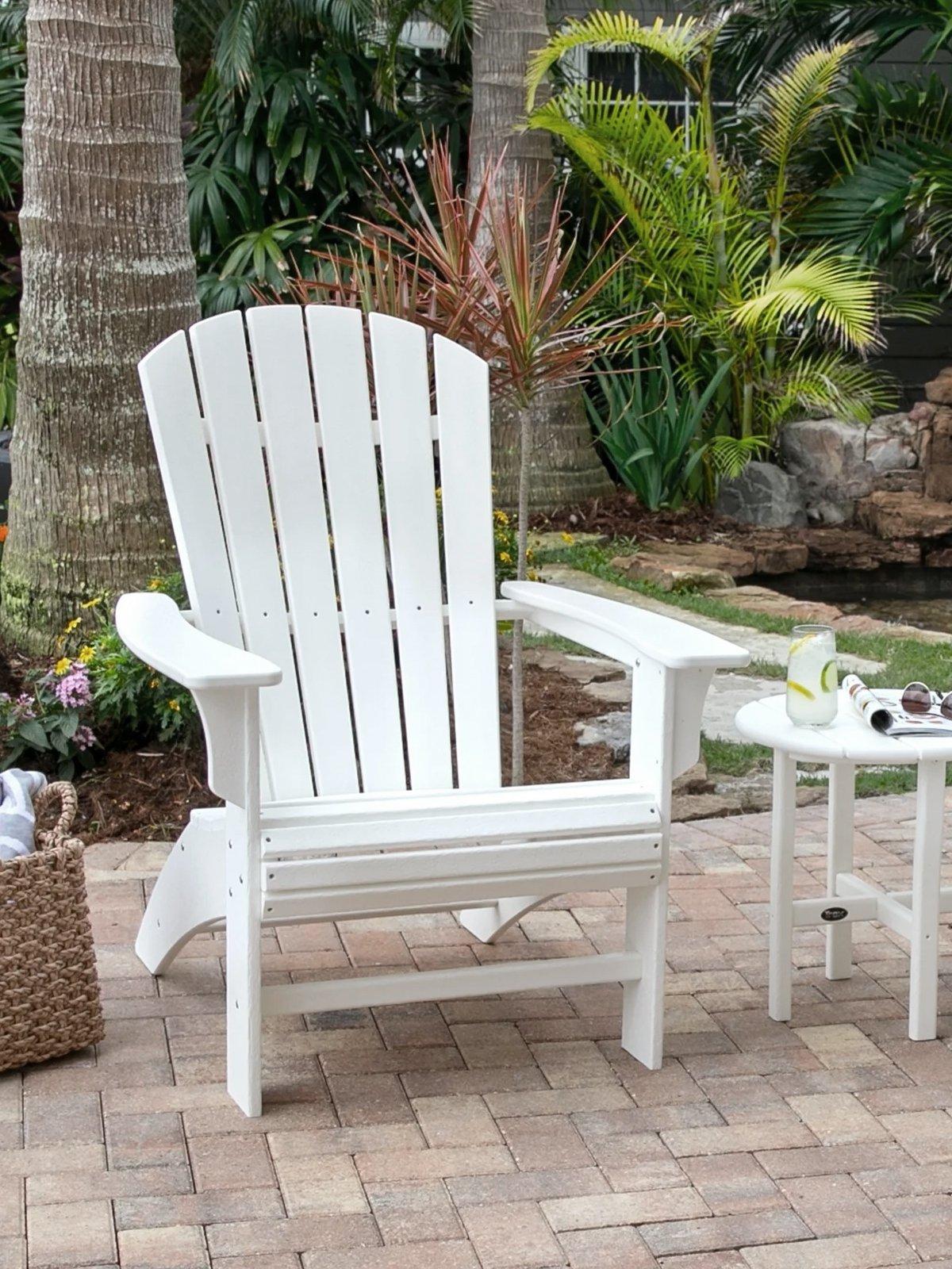 trex white patio furniture