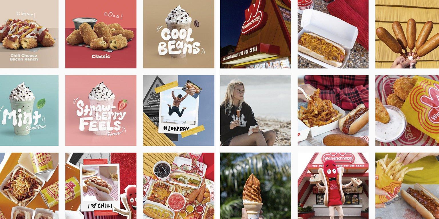Wienerschnitzel instagram posts