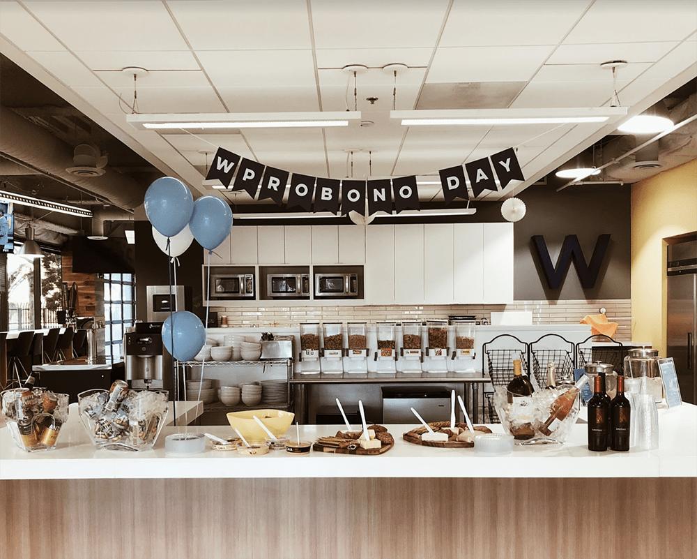 wpromote wprobono day event decorations