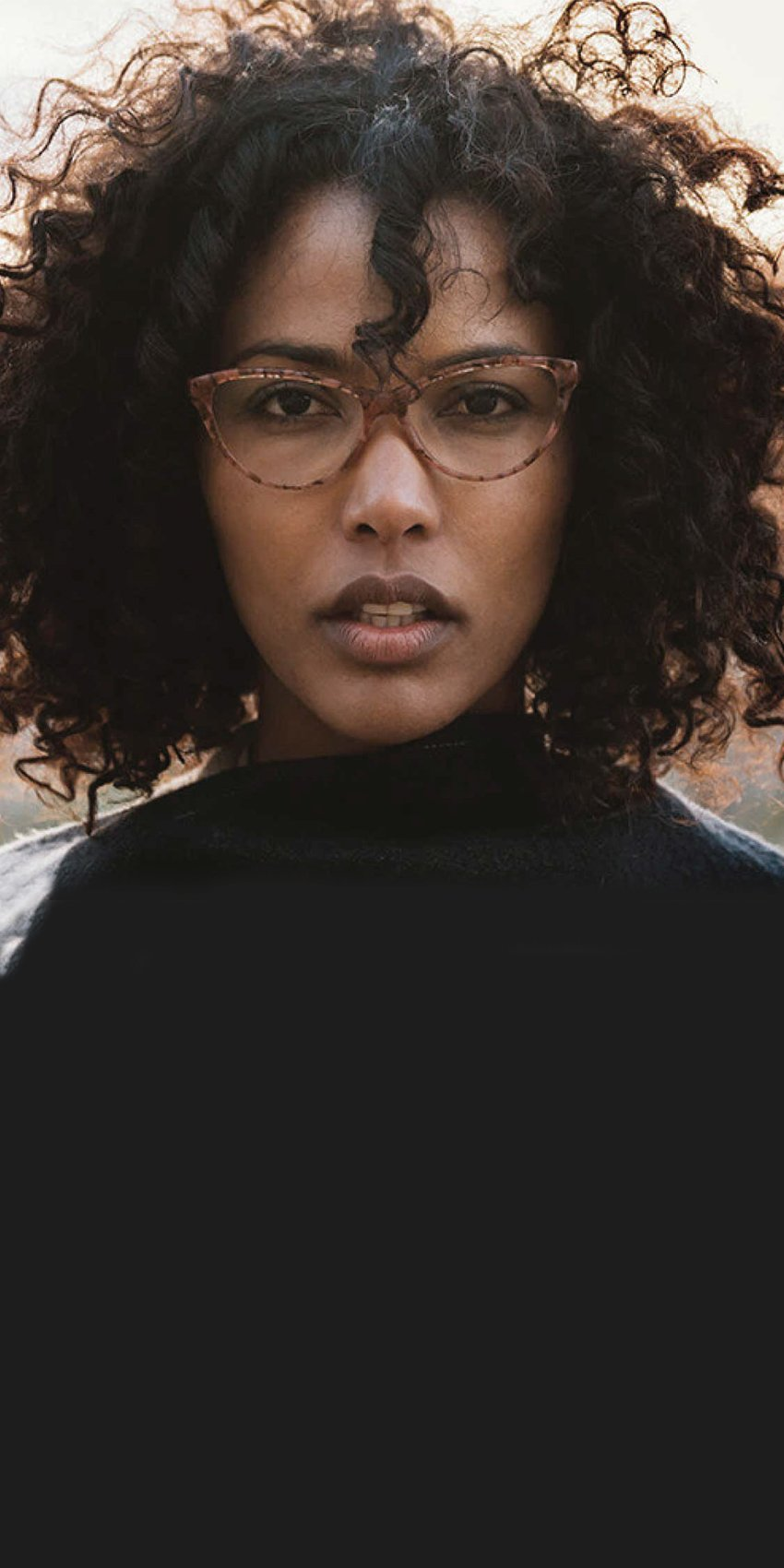 Woman wearing Zenni glasses