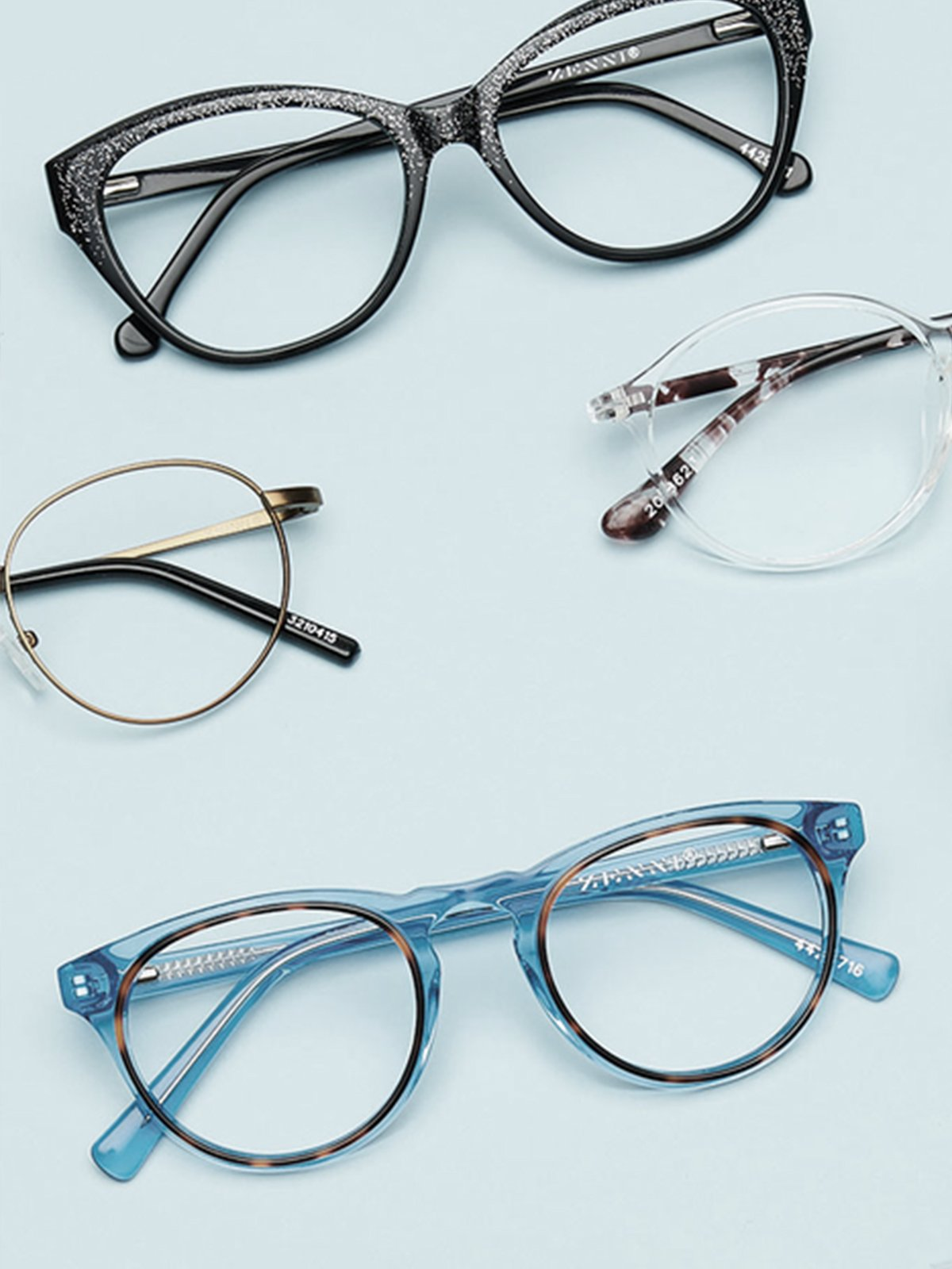 Zenni eye glasses