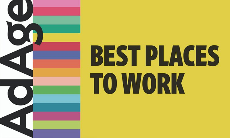 Ad Age Best Places To Work logo