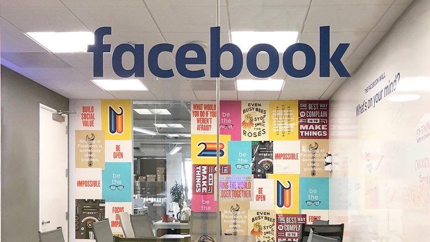 Facebook room at Wpromote