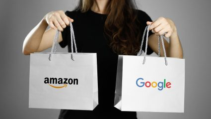 Amazon v. Google Shopping bag