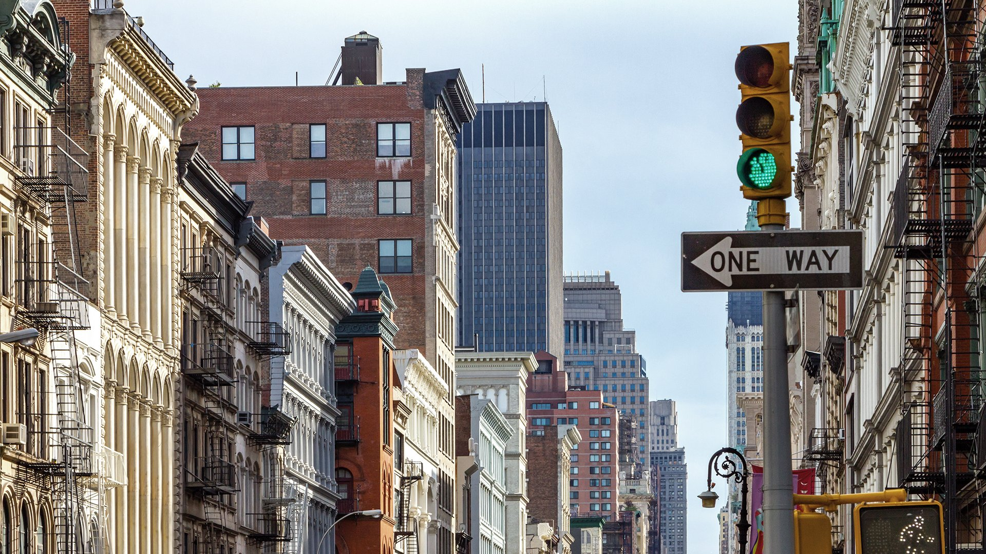 NY Lower Manhattan Streets