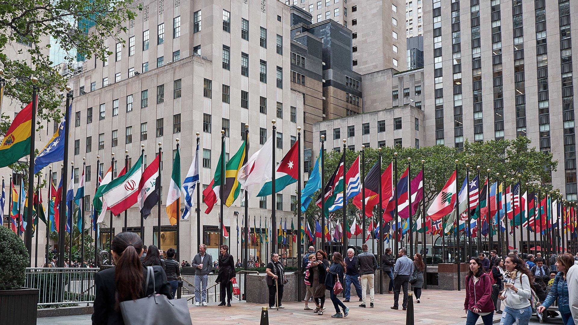NY Rockefeller Plaza