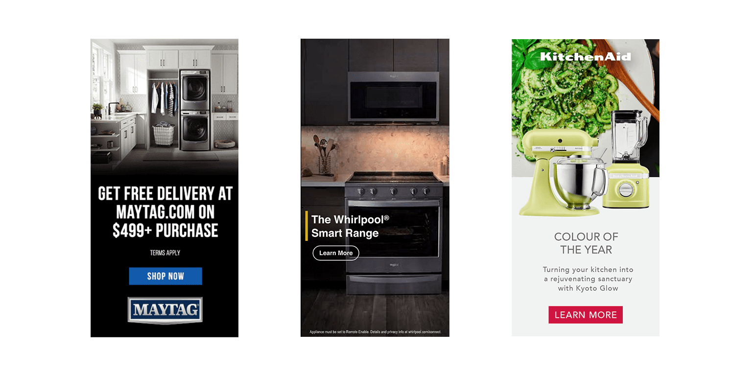 Digital ad campaigns
