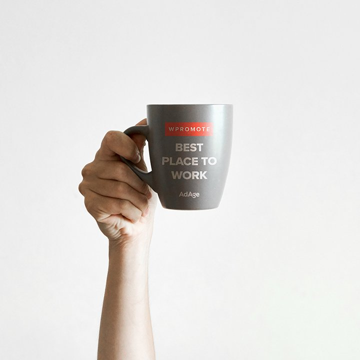 best place to work wpromote mug