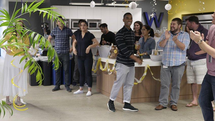 Wpromote team celebration