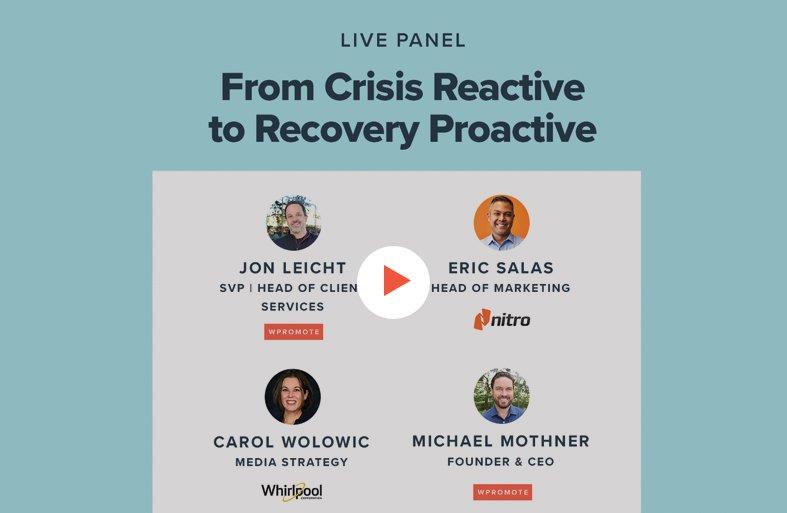 crisis reactive title slide